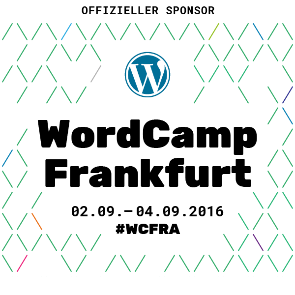 WordCamp Frankfurt 2106 Badge