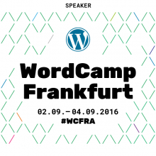 WordCamp 2016 Speaker Badge
